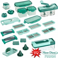 teleshop onlineshop f r teleshopping nicer dicer fusion complete set 34tlg 2688. Black Bedroom Furniture Sets. Home Design Ideas