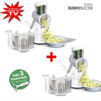 Livington Sumo Slicer 3in1 Trommelreibe 1+1 Gratis