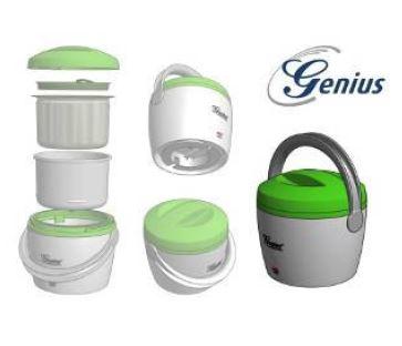 Speisenw/ärmer inkl NEU Genius Hot Pot Suppenw/ärmer unterwegs Zusatzbeh/älter