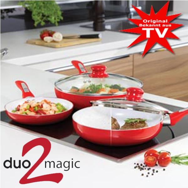 Duo 2 Magic Pfannenset