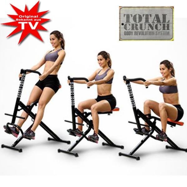 Total Crunch Fitnessgerät