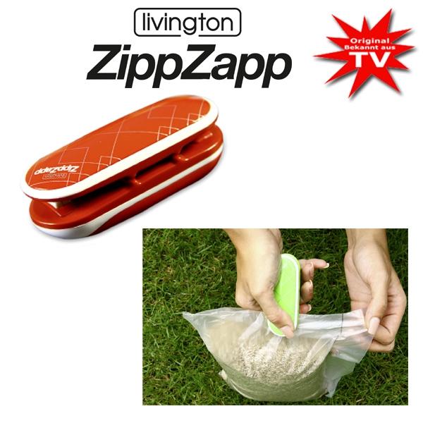Livington Zipp Zapp Universalversiegler rot