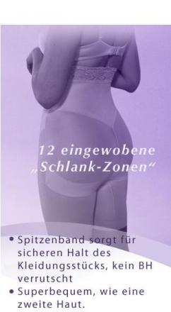 Slim N Lift Aire Schlankwäsche 2für1 Grösse XXXL