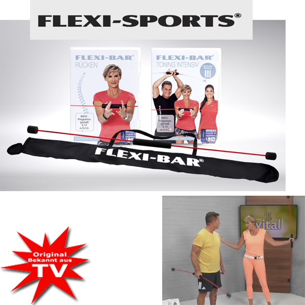 Original Flexi-Bar Set mit DVD