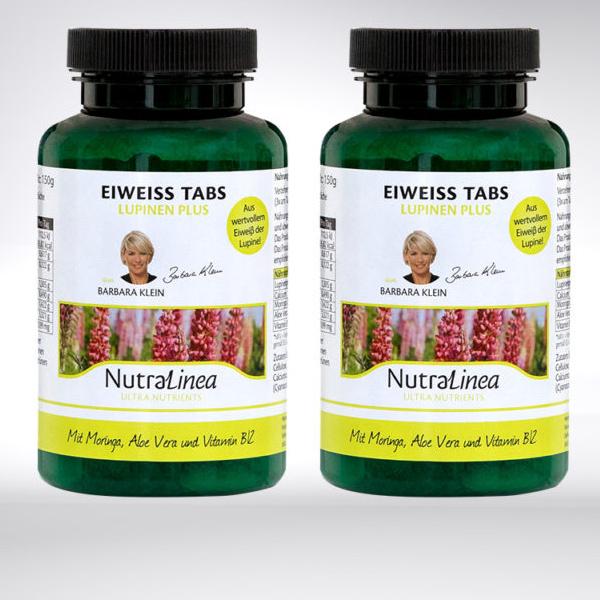 NutraLinea® Lupinen Eiweiss Tabs 1+1 Gratis