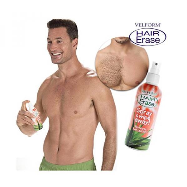 Velform Hair Erase Enthaarungsspray 1+1 Gratis