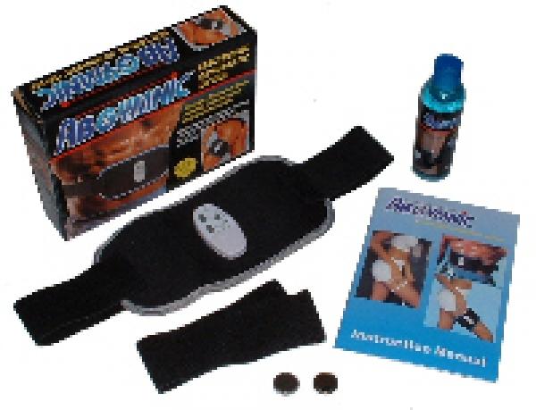 Ab Gymnic DELUXE Bauchweggürtel - Training ohne Anstrengung!