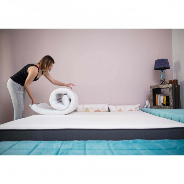 eazzzy mattress topper 90 x 200 cm Sleep quality like on clouds