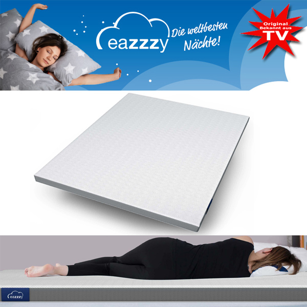 eazzzy Matratzentopper 180 x 200 cm