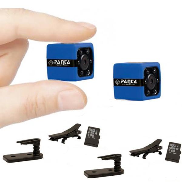 Panta Pocket Cam Mini Kamera 2er Set Aktion