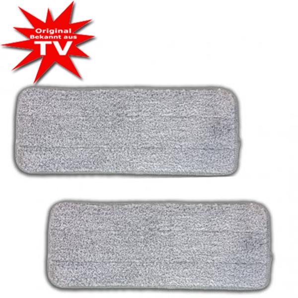 Livington Touchless Mop Mikrofaser-Pads 2er Set