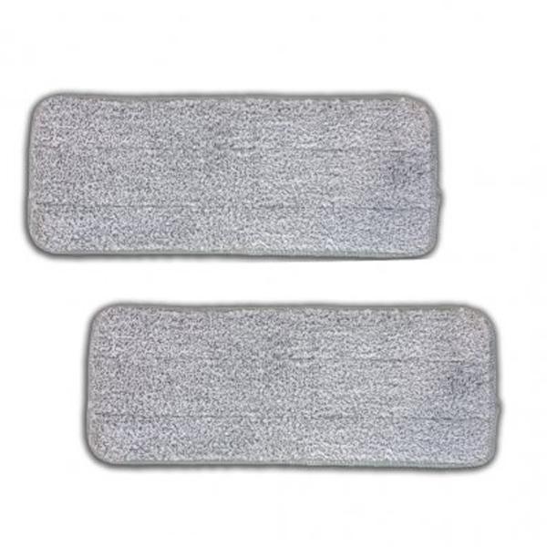 Livington Touchless Mop XXL Mikrofaser-Pads 2er Set