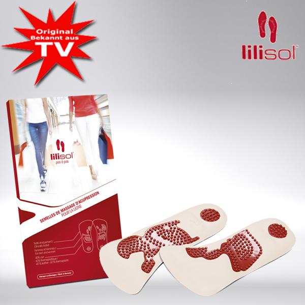 lilisol® Schlankheitssohlen schlank im Gehen - Gr. 35-37
