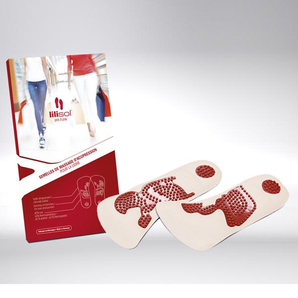lilisol® Schlankheitssohlen schlank im Gehen - Gr. 41-43