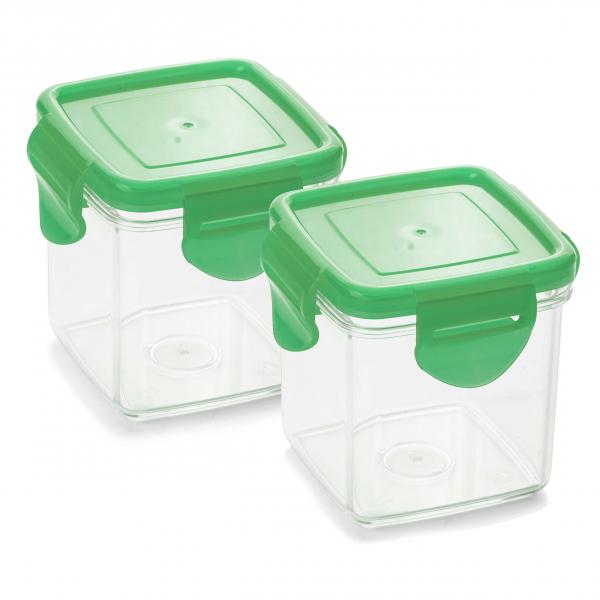 Nicer Dicer Quick Auffangbehälter Set 4-tlg. grün