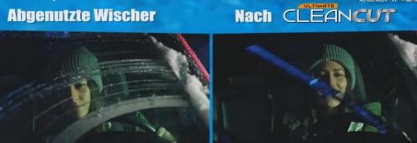 CleanCut Scheibenwischer-Schneider - 1+1 gratis