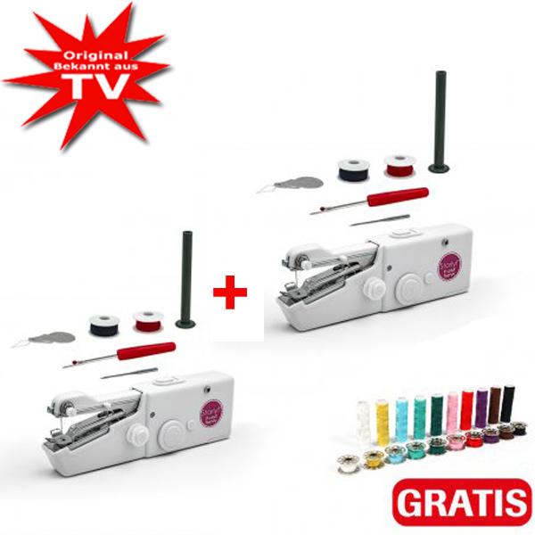 Starlyf Fast Sew Mini-Nähmaschine 1+1 gratis