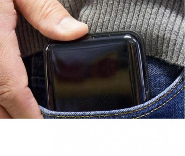 Card Guard Power Wallet schwarz 2in1