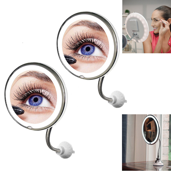 My Flexible Mirror 1+1 gratis - Beauty-Spiegel mit LED