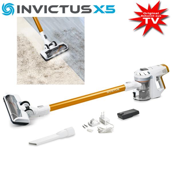 Invictus X5 Zyklon- Akkustaubsauger Set 12-tlg.