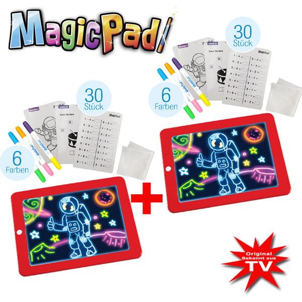 Magic Pad Maltafel 1+1 gratis Set 70-Tlg.