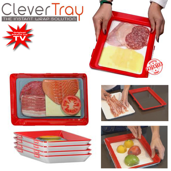 Clever Tray Set 8 pcs. Vacuum cans