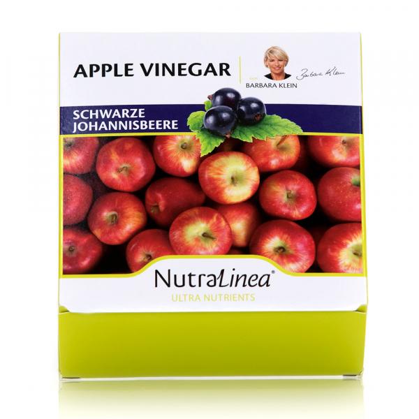 NutraLinea® Apple Vinegar 36 Beutel - Schwarze Johannisbeere