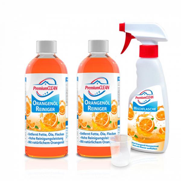 PremiumCLEAN Orangenöl Reiniger Konzentrat 2er-Set