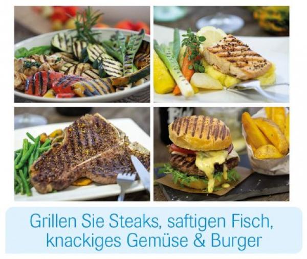 Livington Low Fat Grill - grillen ohne Fett