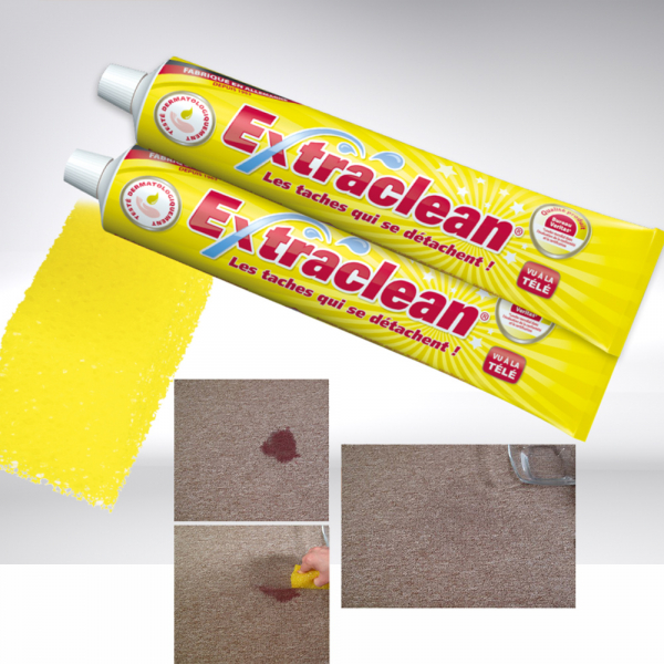 Extraclean Reinigungspaste 2er-Set + Schwamm