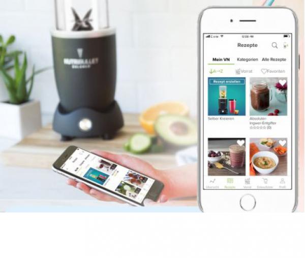 Nutribullet® Balance - App gesteuerter Super-Mixer