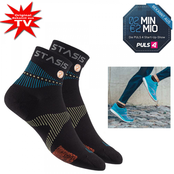 Neuro Socks Athletic Schwarz - Grösse S