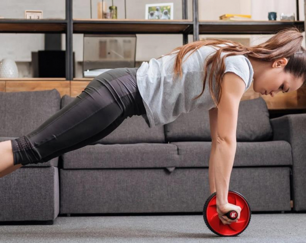 Lukadora effektiver Bauchmuskelroller