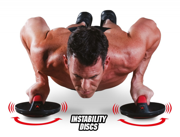 Iron Gym - Push Up Max drehbare Liegestützgriffe