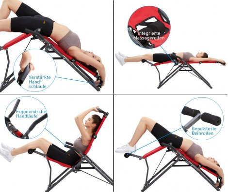 Backlounge 2in1 Inversionstrainer