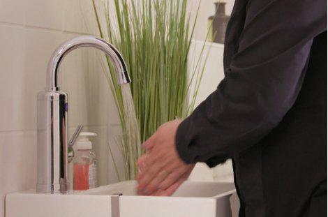 Aquadon SmartHeater Armatur mit Durchlauferhitzer