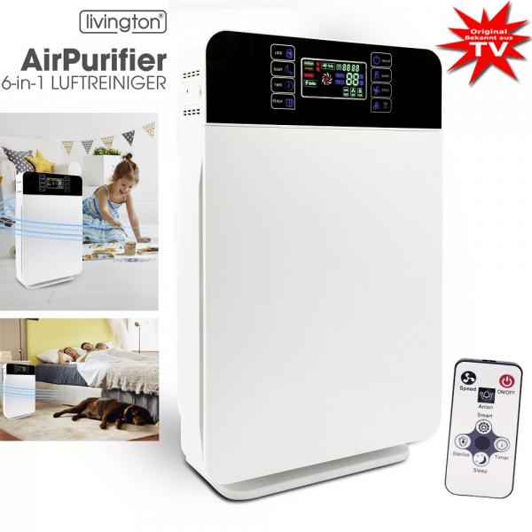 Livington AirPurifier 6-in-1 Luftreiniger