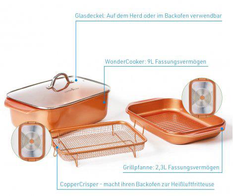 Livington Copperline WonderCooker 14-in-1
