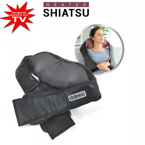 Shiatsu Nacken-Massagekissen beheizt