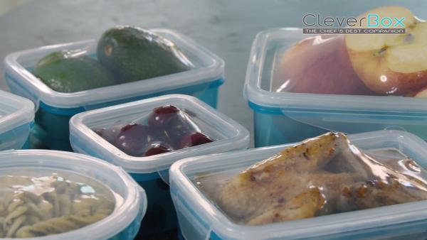 Clever Box Frischhaltedosen mit Flexi-Deckel 12tlg.