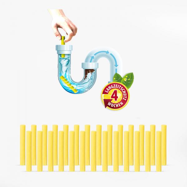 PremiumCLEAN Abfluss- & Rohr Sticks - 27 Stück
