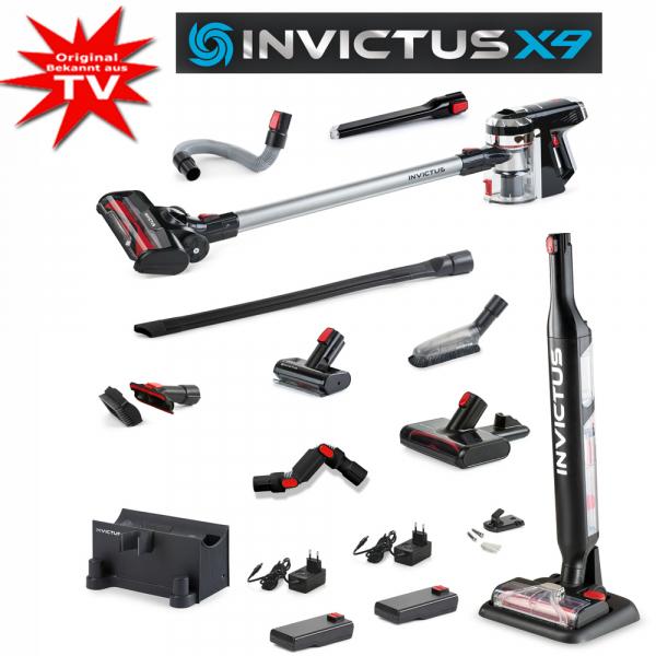 Invictus X9 Deluxe Set, 29-tlg. inkl. X Water 2.0 Nassaugeraufsatz
