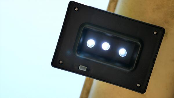 Regenrinnen-Solarleuchte LED, 4-Set