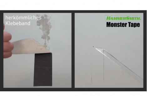 Hammersmith Monster Tape - 3+3 Rollen