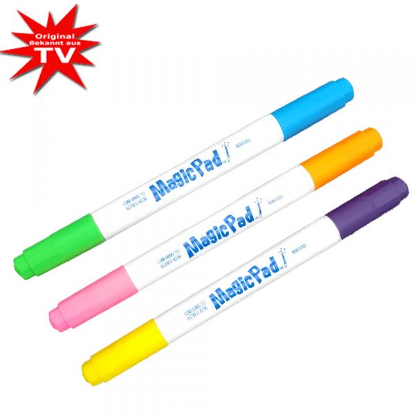 Magic Pad Marker - 3 Ersatzstifte in 6 Faben