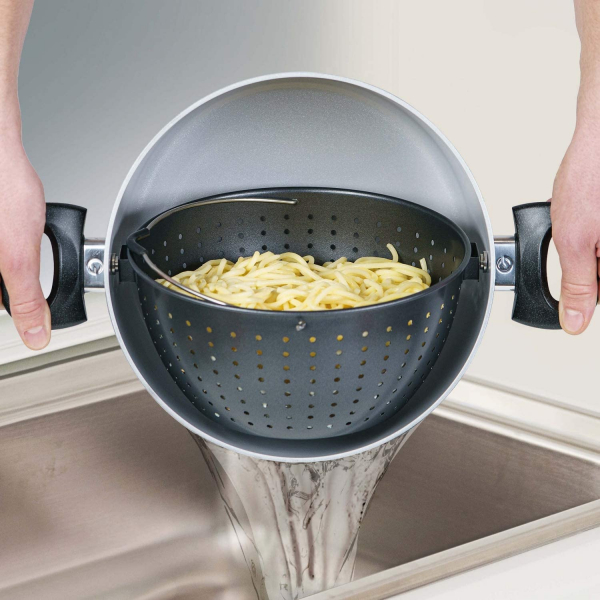 Genius Cerafit Magic Pot Kochtopf-Set 24cm mit Siebeinsatz