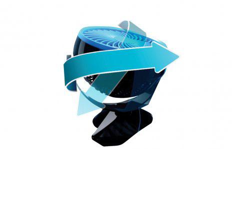 Livington Go Fan - mobiler Akku-Ventilator weiss
