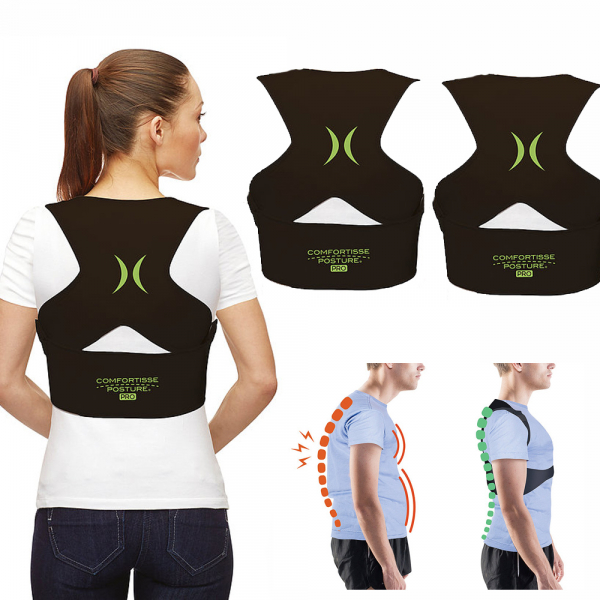 Comfortisse Posture Pro Rücken-Geradehalter 1+1 - Grösse L/XL