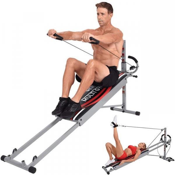 Gymform MultiGym Fitnessgerät für mehr als 100 Übungen