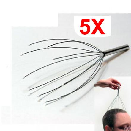 5 Stk. Kopf Masseur Kopfmassage Gerät